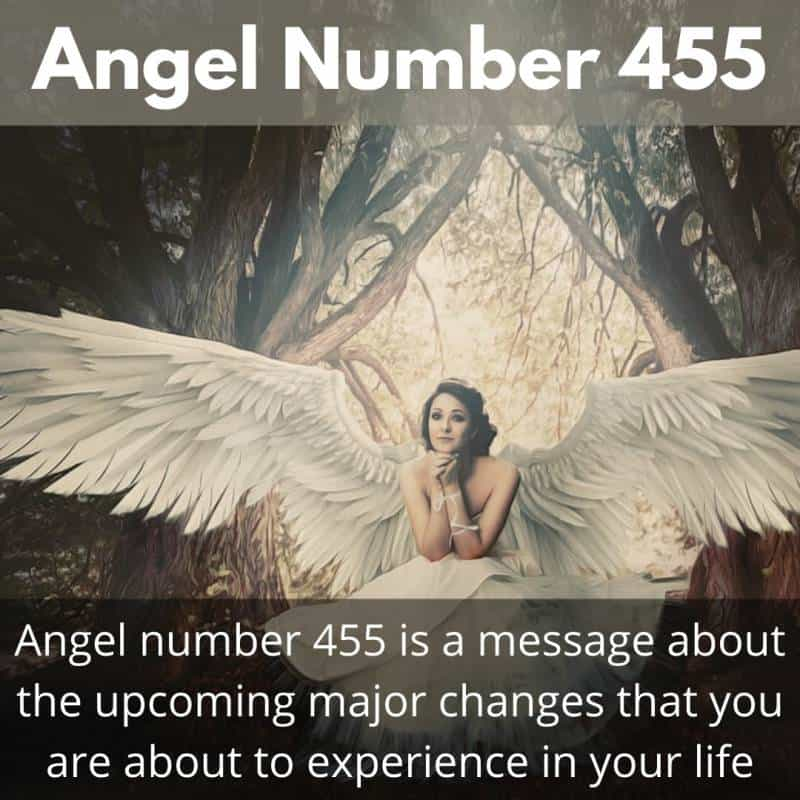 Angel Number 455 meaning