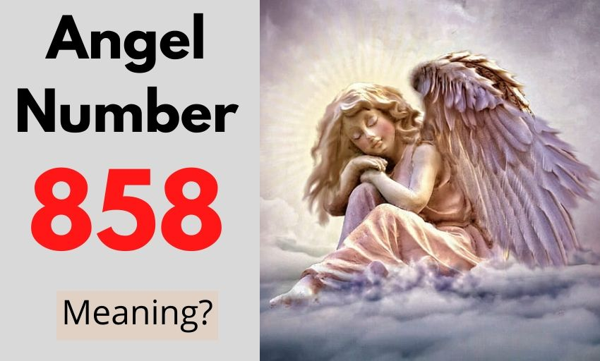 Angel Number 858 meaning