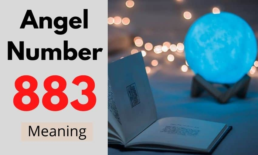 Angel Number 883 meaning