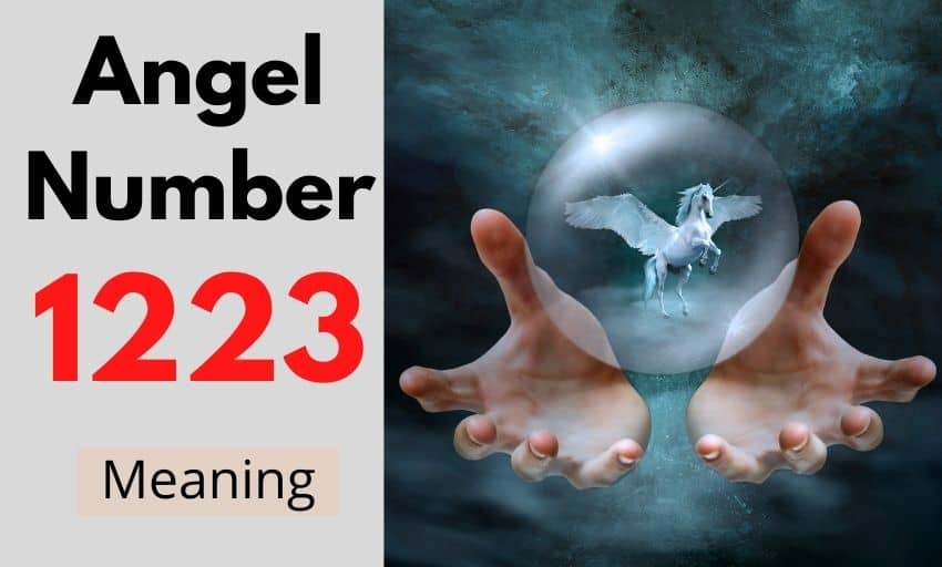 Angel Number 1223 meaning