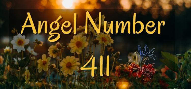 Angel Number 411